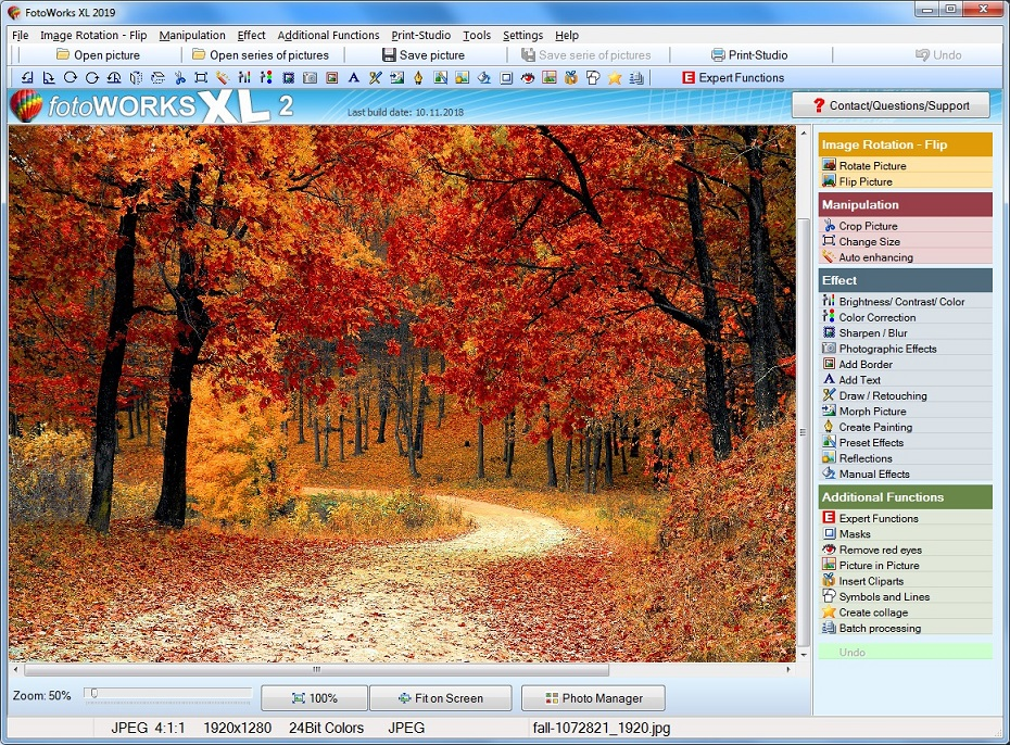 Photo Editing Software for Windows 10 (2019 Version) Free